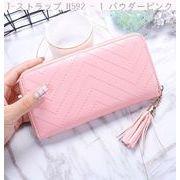 韓国風 財布 女 クラッチ 財布 ジッパー 携帯電話バッグ 新しいデザイン 女性 一 枚