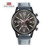 送料無料 MINIFOCUSメンズ クロノグラフカレンダー腕時計MF-157
