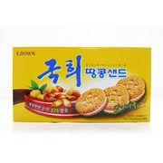 韓国 お菓子 グッキ ピーナッツサンド 70g