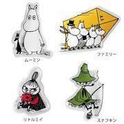 ムーミンキャラクター保冷剤 4種セット(ダイカット)