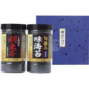 有明産 明太子風味&熊本有明海産 旬摘み味海苔セット YMI-10
