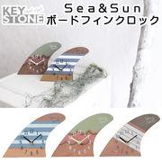 ■キーストーン■ Sea&Sun ボードフィンクロック