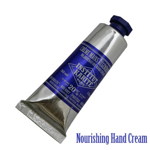 INSTITUT KARITE 20% ハンドクリーム 30ml Nourishing Hand Cream アンスティテュ・カリテ