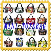 閉店セール 全品70%OFF エコバッグの姉妹品◆ミニトートバッグ(サイドポケット付きONLY)11型
