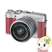 富士フィルム FUJIFILM ミラーレス一眼カメラ X-A5 レンズキット [ピンク]