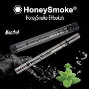 使い捨て電子タバコ・ハニースモーク(Honey Smoke)・メンソール・シルバー