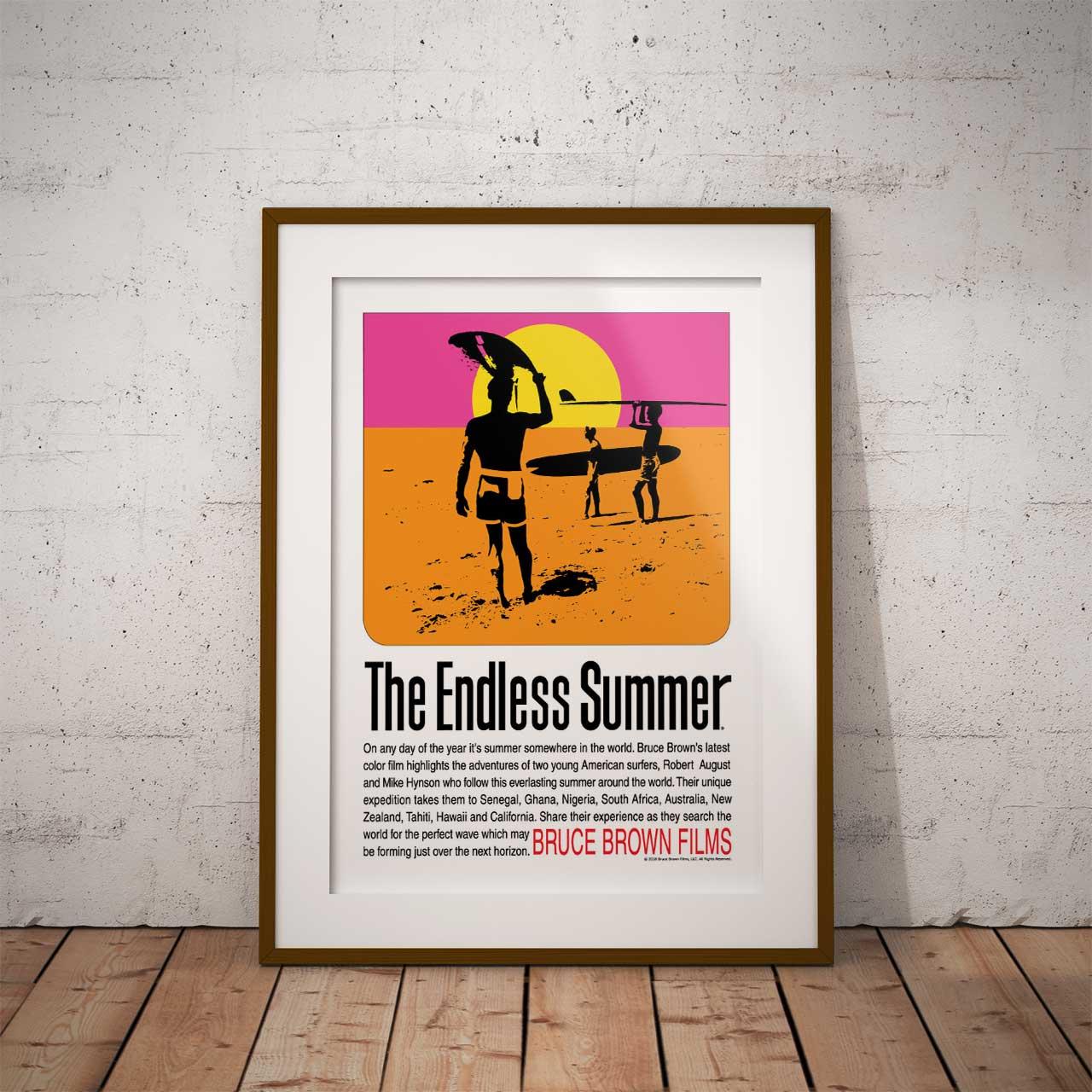 【ブルース・ブラウンフィルム】A3ポスター・The Endless Summer (エンドレスサマー)・オリジナル