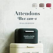 ラバー塗装のマットな仕上がりのスチールボックス【アタンドン・ボックスカン・S】