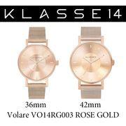 【まとめ割10%OFF】KLASSE14 クラス14 腕時計 VOLARE VO14RG003 36mm 42mm ローズゴールド
