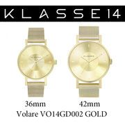 【まとめ割10%OFF】KLASSE14 クラス14 腕時計 VOLARE VO14GD002 36mm 42mm ゴールド