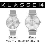 【まとめ割10%OFF】KLASSE14 クラス14 腕時計 VOLARE VO14SR002 36mm 42mm シルバー