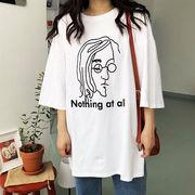 初回送料無料 2018スリット プリント 半袖 Tシャツ 大人気 全2色 Mjbdn-1803aa464 春夏 新作