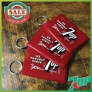 【SALE】[7-up] カードキーパー キーリング