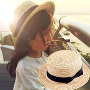 親子帽子★★人気商品★草編み帽子★★★キャップ★トッパー★大人気アイテム!