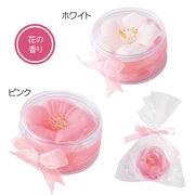 ●【桜コレクション】香り華やか、可憐な紙石鹸は飾っても芳香剤としても。。♪●さくらフラワーソープ●