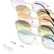 【2018SS新作】 グラデーションレンズ ボストン サングラス / メガネ めがね 眼鏡 伊達 メンズ レディース