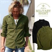 improves ミリタリーシャツ