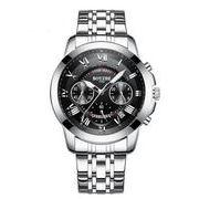送料無料 bz メンズ クロノグラフ カレンダー腕時計 b-24