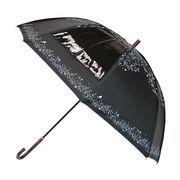 [70cm]日傘 晴雨兼用 遮光 uvカット99%以上 深張りタイプ 長