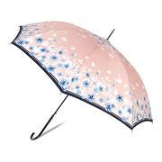 [58cm]傘 婦人傘 ジャンプ傘 レディース 花柄
