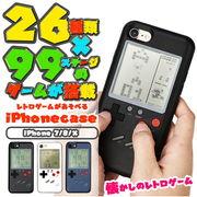 ゲーム付き iPhoneケース iPhone X 8 7 実際に遊べる レトロゲーム シューティング  レトロ スマホケース