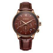 送料無料 ost メンズ  クロノグラフ カレンダー腕時計 st-83