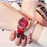 腕時計 レディース 女性用 GUOU ウォッチ ラインストーン