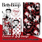 iPhone 7 8 X 手帳型 スマホケース ベティー ブープ(TM) ベティーちゃん キャラクター 10個セット