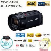 HC-WX1M-K パナソニック デジタル4Kビデオカメラ