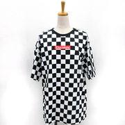 【再入荷】【2018春夏新作】20/-天竺 チェッカーフラッグ BIG-Tシャツ