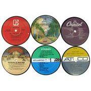 Vinylux ビニーラクス社製 レコードレーベル コースター 6枚組 USA直輸入