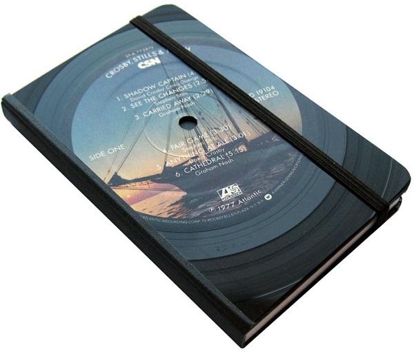 Vinylux ビニーラックス社製 レコード・ジャーナル 手帳 Rock&Pops ロック&ポップス編 USA直輸入