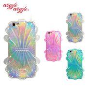 【Wiggle Wiggle 正規品】iPhone8 7 6S 6 ケース [Shell series] シェル ラメ
