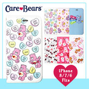 【Care Bears】diary iPhone Case 手帳型 iPhone ケースカバー (6color