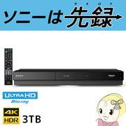 BDZ-FT3000 ソニー ブルーレイレコーダー 3TB (3チューナー)