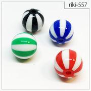 rikiビーズ【riki-557】球体 アクリルビーズ パーツ ハンドメイド 手芸材料