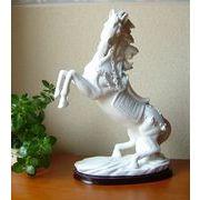 徳化窯白磁  吉祥白馬