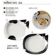 「猫&犬」豆皿 DOG&CAT