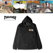 THRASHER FLAME MAG COACH JACKET  16701