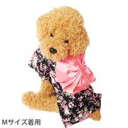 小花柄 ゆかた 浴衣 着物 犬服 犬 服 犬の服 ドッグウェア 洋服 コスチューム コスプレ