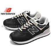 【ニューバランス】 WL574EB スニーカー 靴 シューズ ブラック レディース