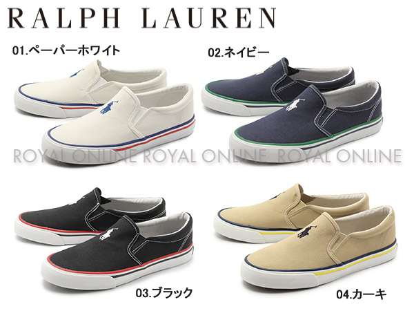 【ポロ ラルフローレン】 RF100853 MOREES スニーカー 靴 シューズ 全4色 レディース ジュニア