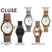 S) 【クルース】 CL50006 腕時計 LA VEDETTE 24 MESH ラ ヴェデット メッシュベルト 全5色 レディース