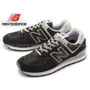 【ニューバランス】 ML574EGK スニーカー 靴 シューズ ブラック メンズ
