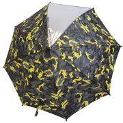 サンマルコプロケッズ迷彩柄長傘 ブラック 50cm