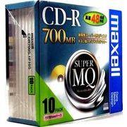 マクセル CD-R700MBゴールド 【10枚入】 CDR700S.1P10S 00050624