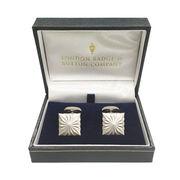 London Badge & Button カフスリンク 2個入り 専用ボックス付き 英国製