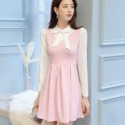 春夏 新しいデザイン 韓国風 何でも似合う 大きいサイズ 着やせ 女性服 ファッション