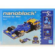 ナノブロックプラス フォーミュラカー ブルー BPS-011