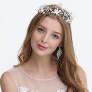 可愛いハンドメイドお花デザインヘアーアクセ - ヘアバンド ヘアアクセサリー ピン留め   全1色